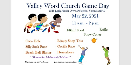 Valley Word Church Game Day tickets