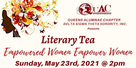 Queens Alumnae Chapter Virtual Literary Tea tickets