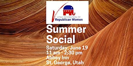 UFRW  Summer Social 2021 tickets