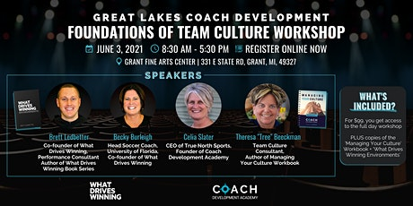 Great Lakes Coach Development: Foundations of Team Culture Workshop tickets