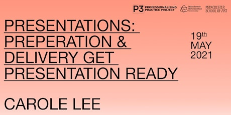 PRESENTATIONS: PREPERATION & DELIVERY Get presentation Ready  - Carole Lee tickets