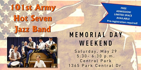 Pop Up Event: 101st Army Hot Seven Jazz Band tickets