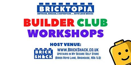 Bricktopia IN-PERSON Builder Club sessions - May tickets