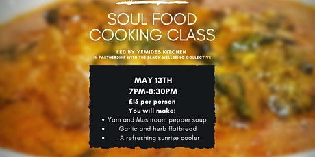 Soul Food Cooking Class tickets