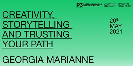Creativity, storytelling and trusting your path with GEORGIA MARIANNE biglietti