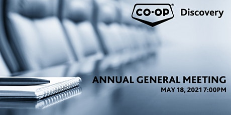 Discovery Co-op 2021 Annual General Meeting tickets
