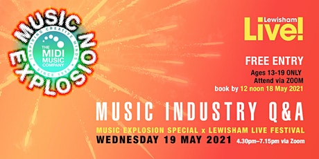 Music Explosion Special x Lewisham Live tickets