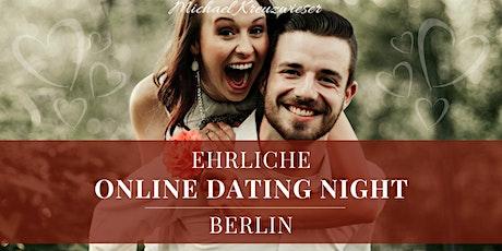 EHRLICHE ONLINE DATING NIGHT BERLIN tickets