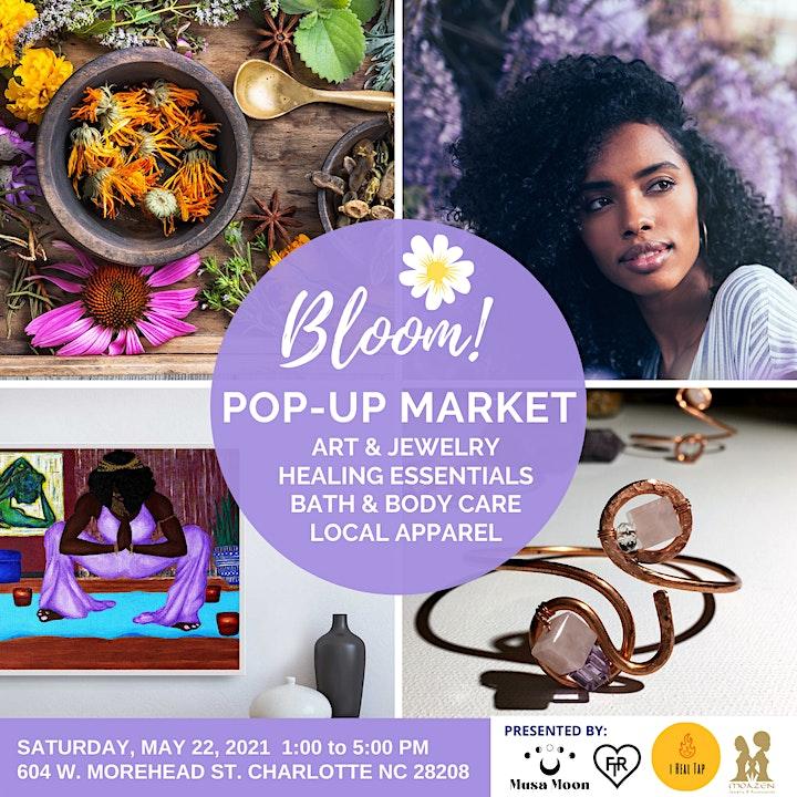BLOOM! Pop Up Market @Life Suites Uptown image