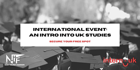 International Event: An Intro Into UK Studies tickets