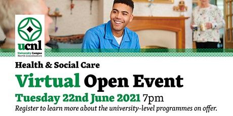 Health and Social Care Virtual Open Event - June tickets