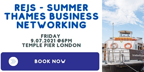 REJS - Summer Thames Business Cruise 09.07.2021 tickets