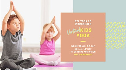 Kids Virtual Yoga tickets