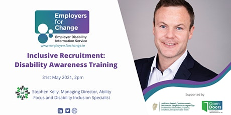 Inclusive Recruitment: Disability Awareness Training tickets