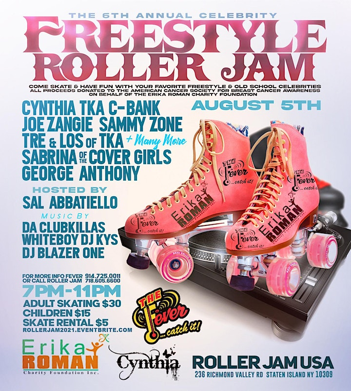 E.R.C.F. 6th Annual Celebrity Charity Roller Jam image