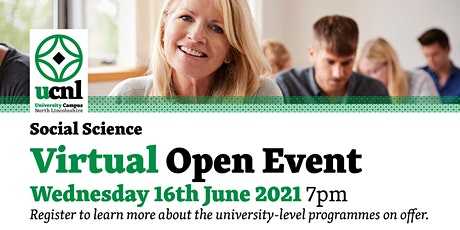 Social Science Virtual Open Event - June tickets