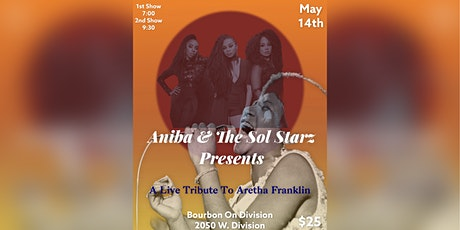 Aretha Franklin Tribute: Aniba and The Sol Starz  *Early Show* tickets