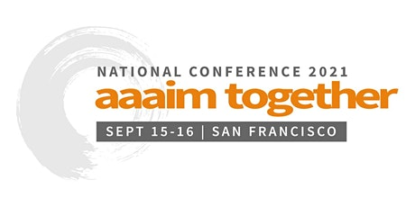 AAAIM National Conference 2021 tickets