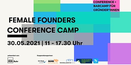 Female Founders ConferenceCamp #2 - 30.05.2021 Tickets