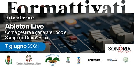 Ableton Live -  Come gestire e generare Loop e Sample di Drum&Bass tickets