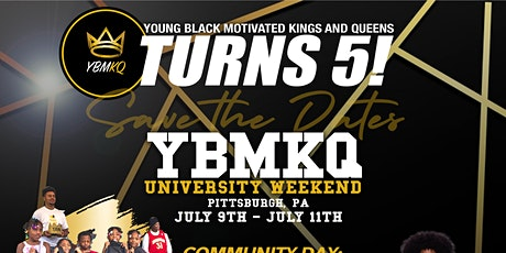 Young Black Motivated Kings & Queens: 5 Year Anniversary tickets