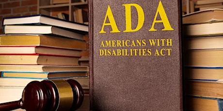 COVID-19: ADA DISABILITY COMPLIANCE TRAINING tickets