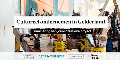 Cultureel ondernemen in Gelderland tickets