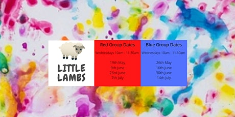 Little Lambs Summer 2021 (Red Group) tickets