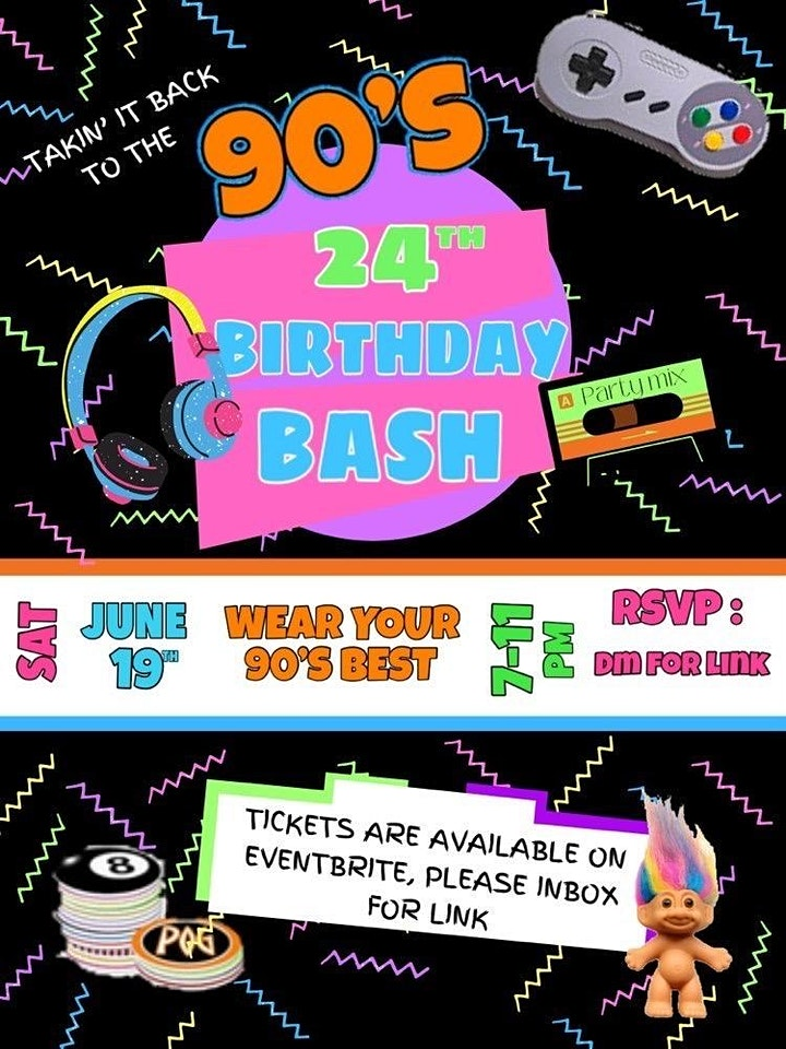 Myah's 90s birthday bash image