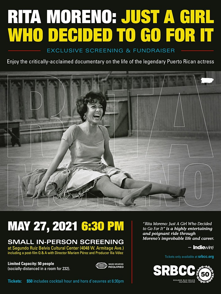 RITA MORENO: JUST A GIRL WHO DECIDED TO GO FOR IT image