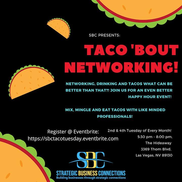 SBC Taco Tuesday Happy Hour! image