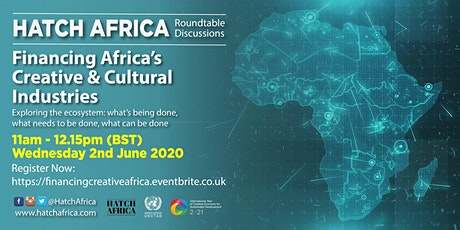 Financing Africa's Creative & Cultural Industries tickets
