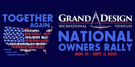 Vendors Registration for 2021 GDRV National Owners Rally tickets