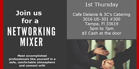 After hours Networking Mixer  Cafe Delanie tickets