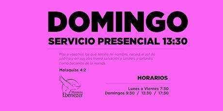 DOMINGO 9 MAYO  / 13:30 entradas