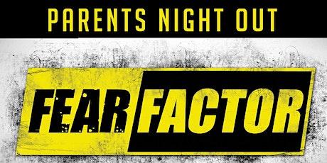 Premier Martial Arts Parents Night Out: Fear Factor Registration Tickets