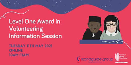 Level One Award in Volunteering Information Session - Tues 11 May 10-11am tickets