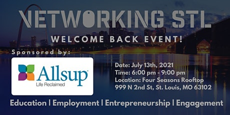 July Vetworking STL WELCOME BACK EVENT! tickets