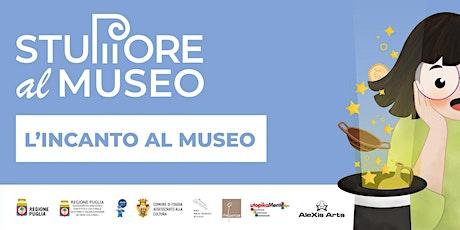 """""""L'incanto al Museo"""" Spettacolo online di magia e narrazione museale biglietti"""