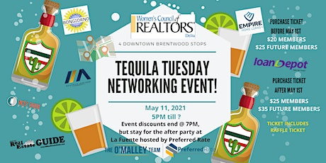 Tequila Tuesday Networking Event tickets