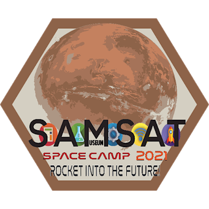 SAMSAT In Person CAMP: Space:  Rocket Into the Future image