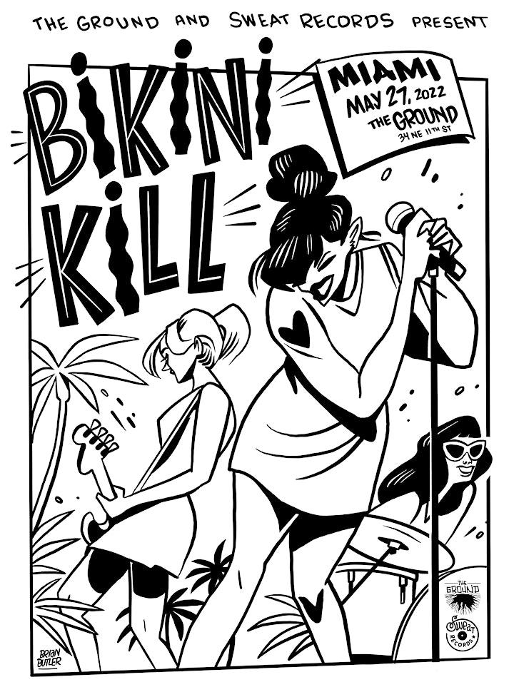 Bikini Kill at The Ground [POSTPONED] Friday May 27, 2022 image