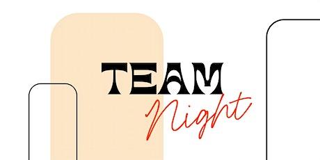 May Team Night tickets