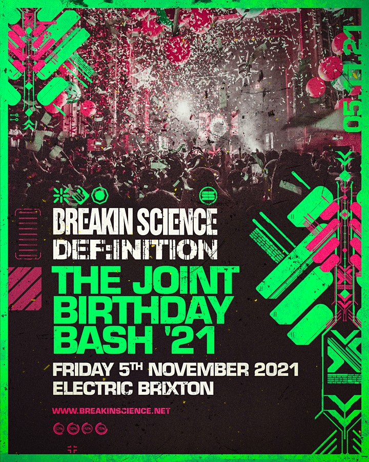 Breakin Science & Def:inition Joint Birthday 2021 image