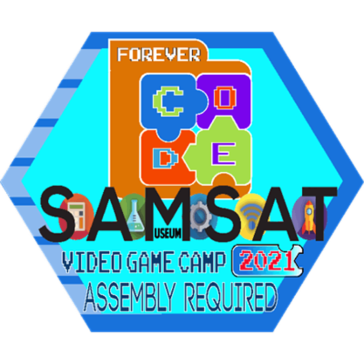 SAMSAT In Person CAMP: Video Game Design:  Assembly Required image