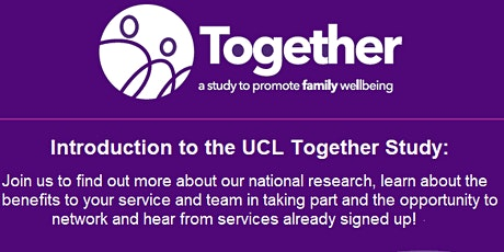 Webinar: Welcome to the UCL Together Study tickets