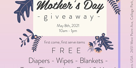 FREE Mother's Day Giveaway tickets