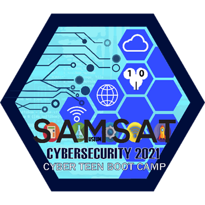 SAMSAT In Person CAMP Cyber Teen Boot Camp image