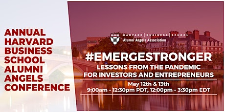 EMERGE STRONGER: Lessons From The Pandemic For Investors And Entrepreneurs tickets