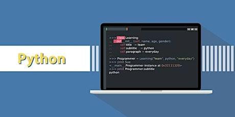 ONLINE: CoderDojo- Python (For grades 5 through 10) Tickets